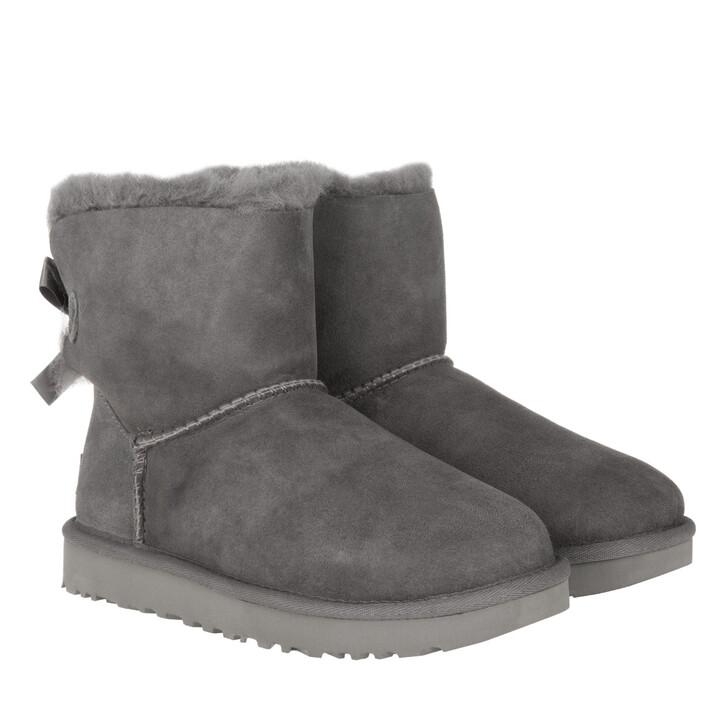 Schuh, UGG, W Mini Bailey Bow II Grey