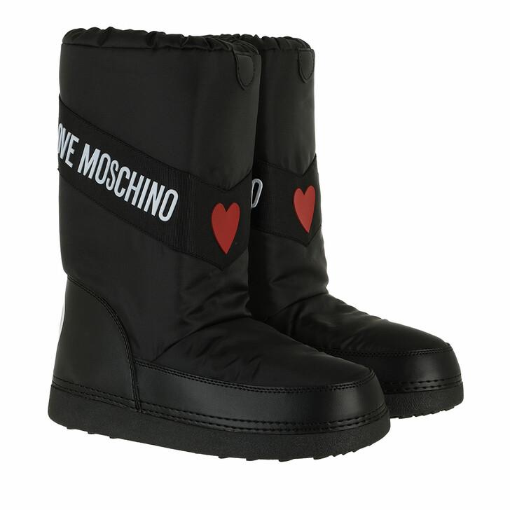 shoes, Love Moschino, St Ttod Skiboot20 Nylon   Nero