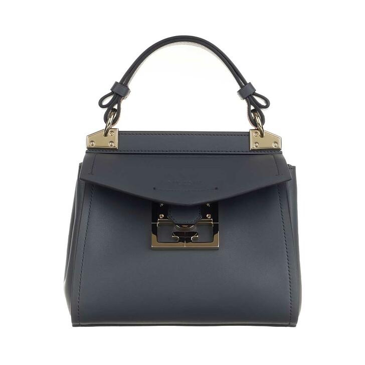 Handtasche, Givenchy, Mini Mystic Satchel Bag Leather Storm Grey