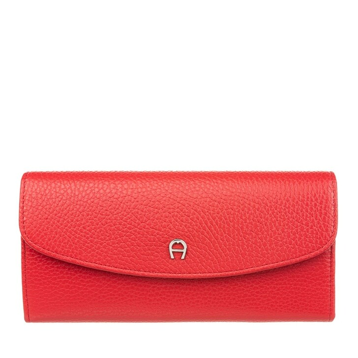 wallets, AIGNER, Wallet Burnt Red