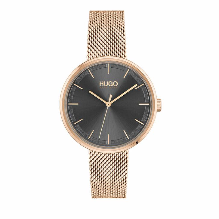 watches, Hugo, Watch Crush Rose Gold