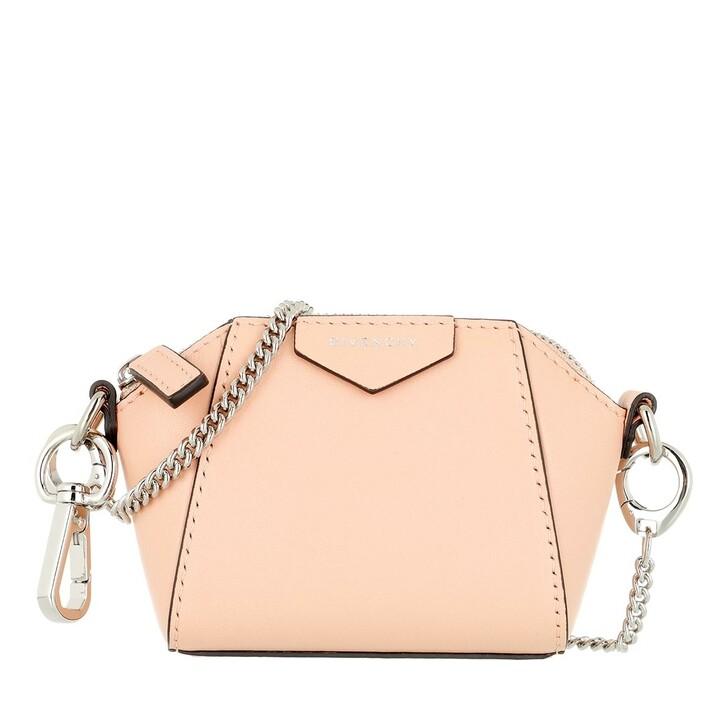 Handtasche, Givenchy, Small Antigona Crossbody Leather Light Pink