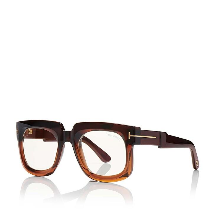 Brillen mit Gläsern, Tom Ford, Blue Blocker FT0729 Dark Brown