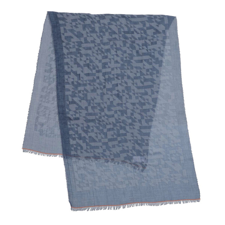 Schal, Closed, Scarf Archive Blue