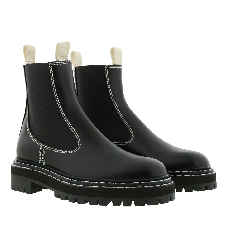 Schuh, Proenza Schouler, Ankle Boot Leather Nero