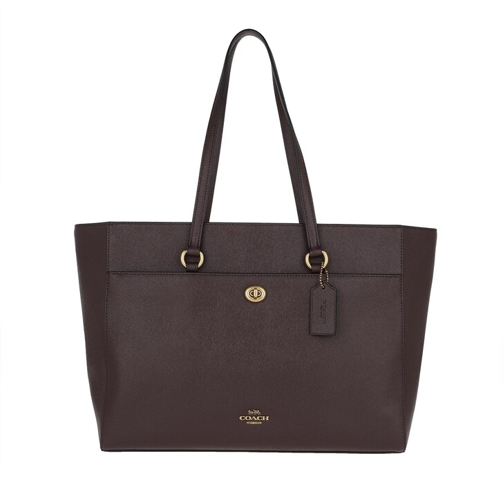 Handtasche, Coach, Tote Bag Oxblood