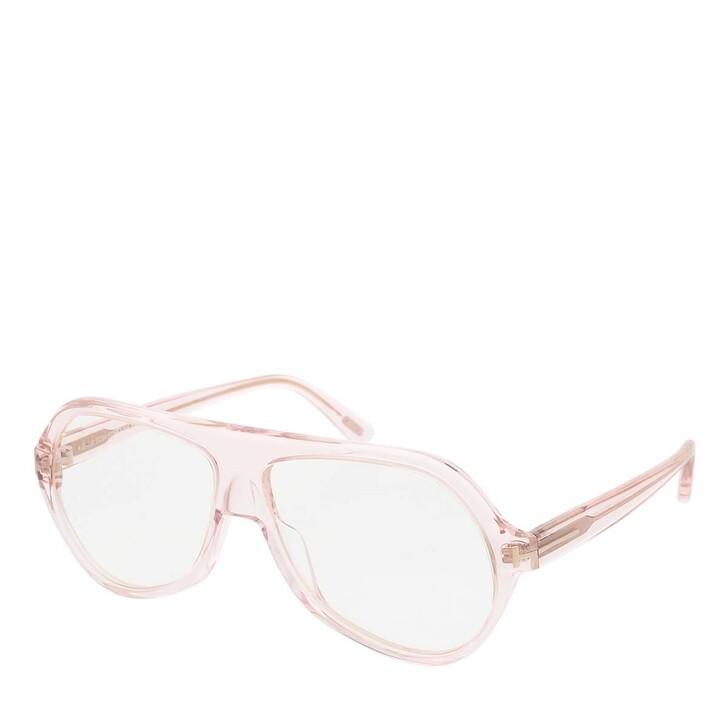 Brillen mit Gläsern, Tom Ford, Blue Blocker FT0732 Rose