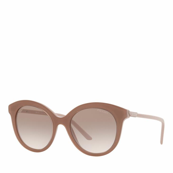 sunglasses, Prada, Woman Sunglasses 0PR 02YS Alabaster/Crystal