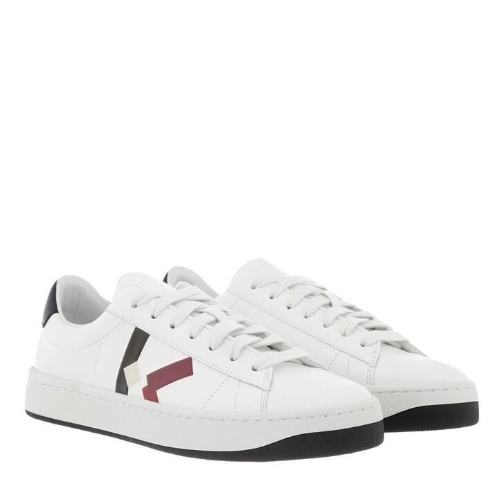 Schuh, Kenzo, Low Top Sneaker Magenta