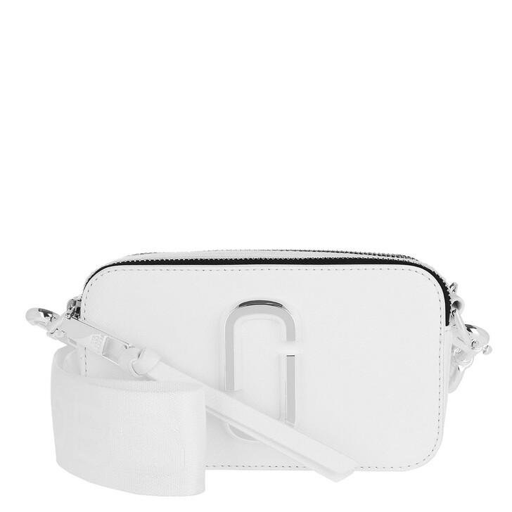 Handtasche, Marc Jacobs, Snapshot Crossbody Bag White