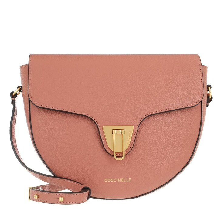 Handtasche, Coccinelle, Beat Soft Flap Crossbody Bag Litchi