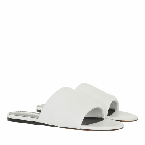 proenza schouler -  Loafers & Ballerinas - Nappa Lamb Slides - in weiß - für Damen