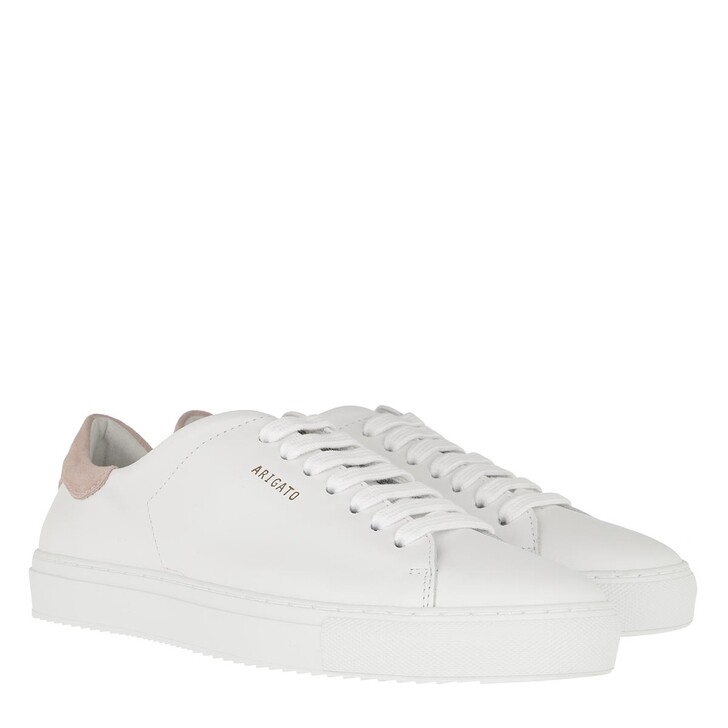 Schuh, Axel Arigato, Clean 90 Sneakers White/Dusty Pink