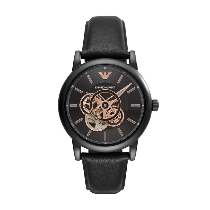 watches, Emporio Armani, AR60012 Men Dress Black