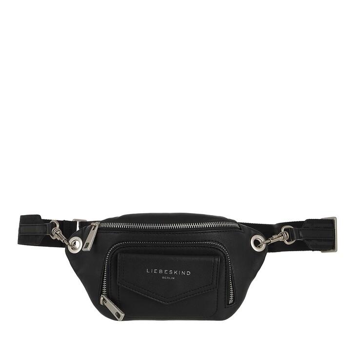 Handtasche, Liebeskind Berlin, Belt Bag Black
