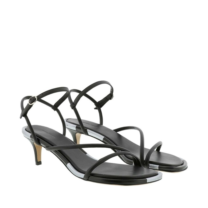 Schuh, Isabel Marant, Apica Sandals Leather Black