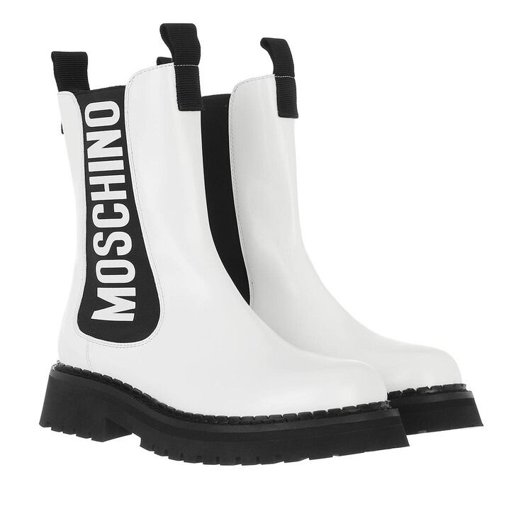 shoes, Moschino, St Ttod Montagna50 Vit Abr  Bianco