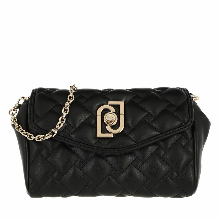 bags, LIU JO, Ecs Xs Crossbody Black