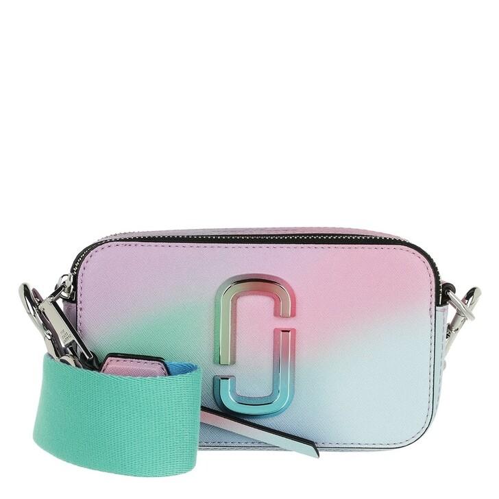 Handtasche, Marc Jacobs, The Snapshot Airbrush 2.0 Crossbody Bag Green Multi