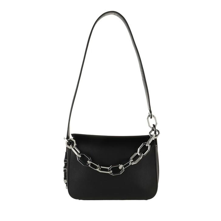 Handtasche, Karl Lagerfeld, Letters Shoulderbag Black