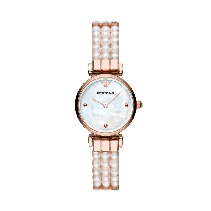 Uhr, Emporio Armani, Gianni T-Bar Watch White