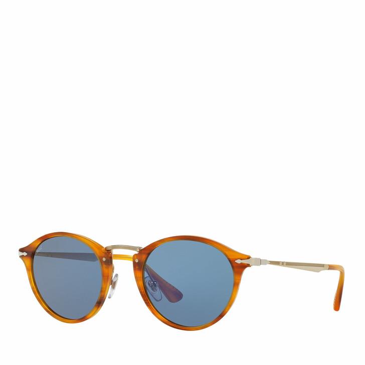 Sonnenbrille, Persol, 0PO3166S STRIPED BROWN