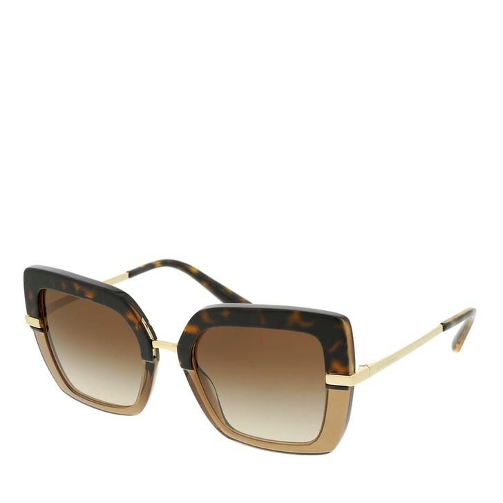 sunglasses, Dolce&Gabbana, Women Sunglasses Eternal 0DG4373 Top Havana On Transparent Brown