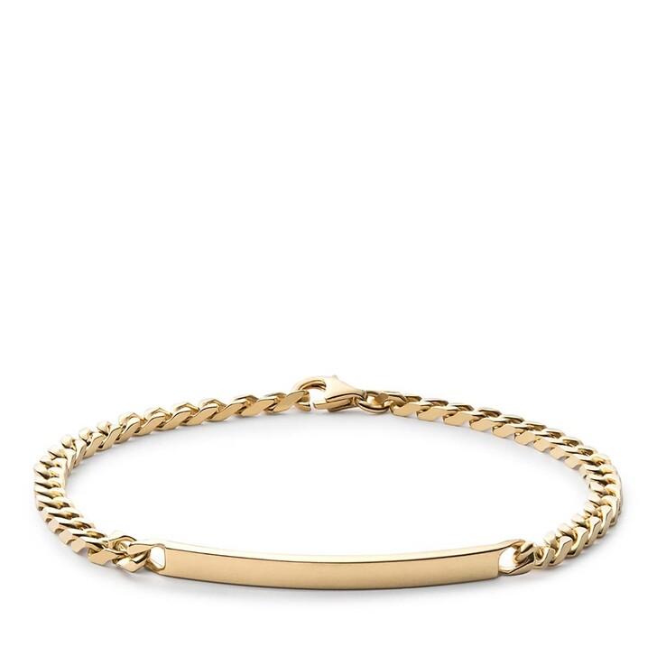 Armreif, Miansai, ID Chain Bracelet Vermeil S Polished Gold