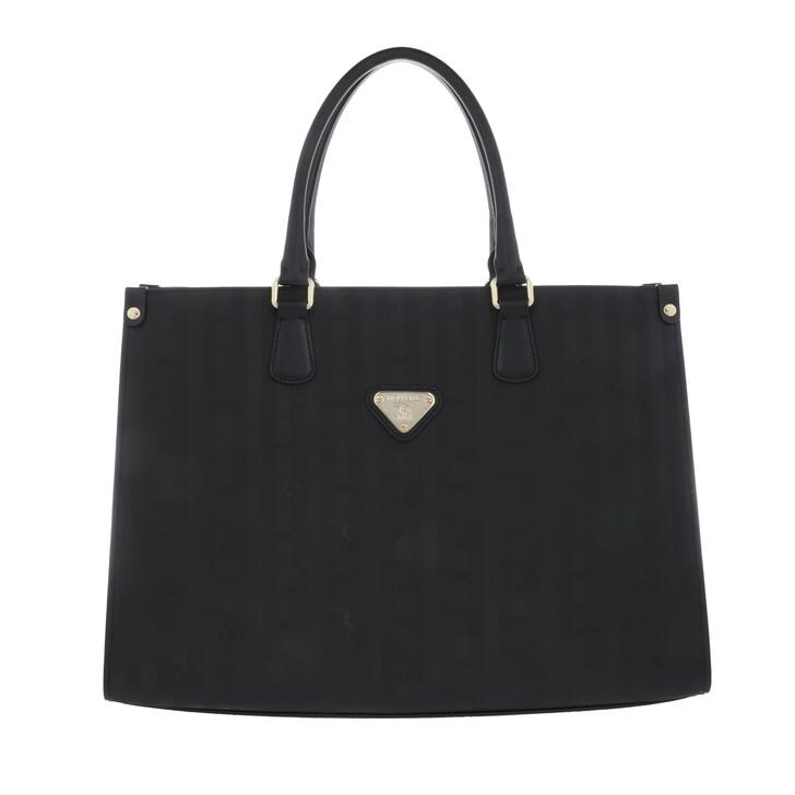 Handtasche, Maison Mollerus, Yens Handbag Black/Gold