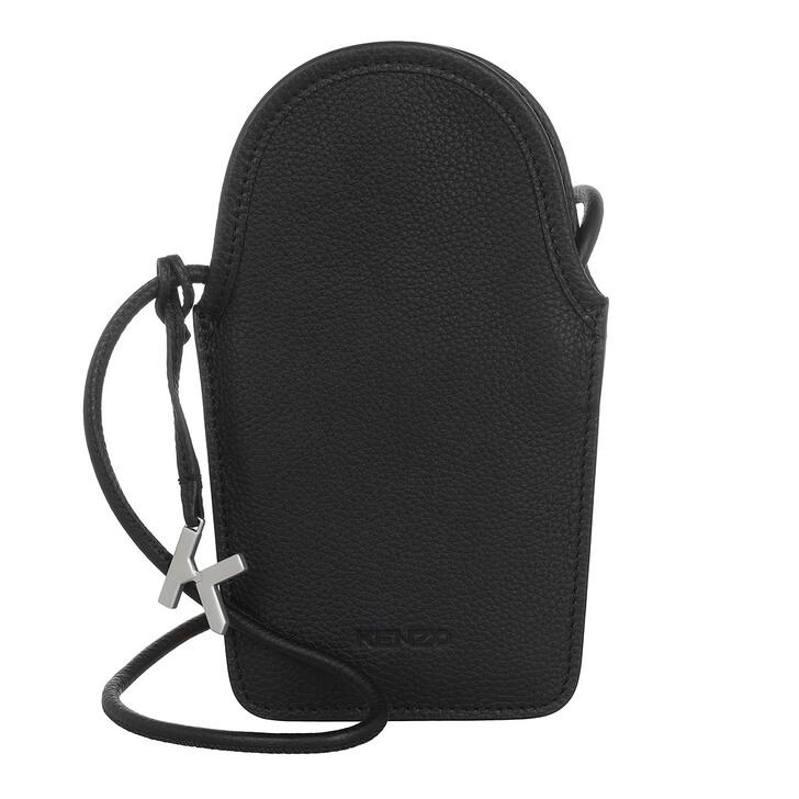 Handtasche, Kenzo, On Strap Phone Holder Crossbody Black