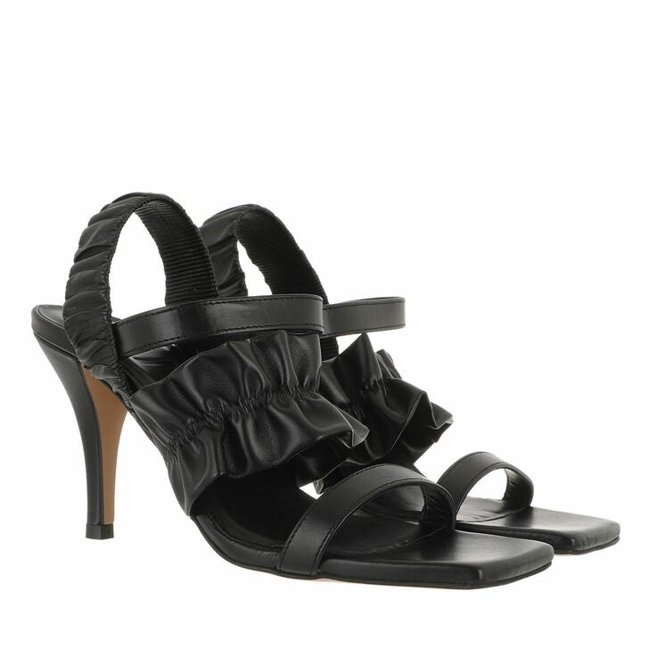 Schuh, GANNI, Sandals Nappa Black