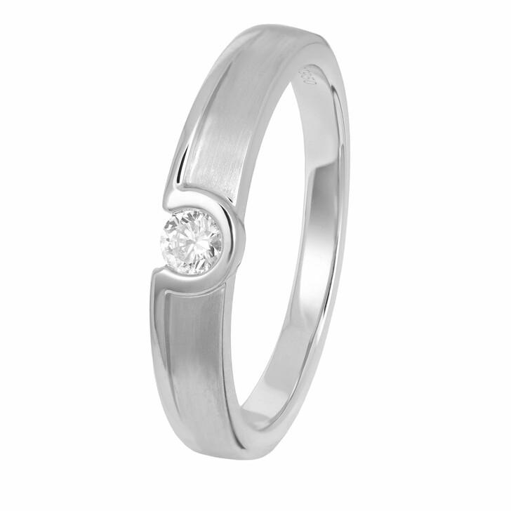 rings, VOLARE, Ring 1 Brill ca. 0,15 Platinum