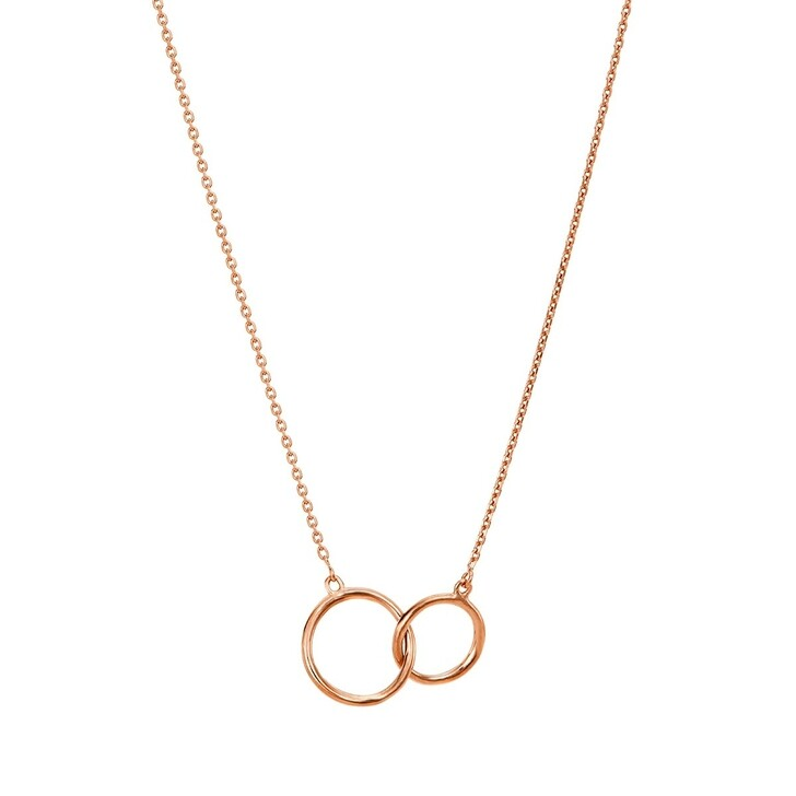 Kette, BELORO, Necklace Rings Rose Gold