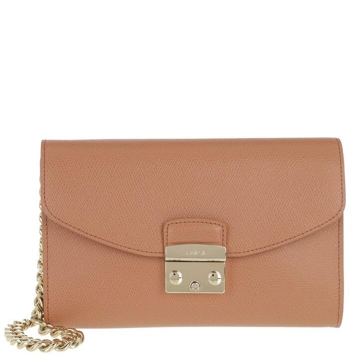 Handtasche, Furla, Metropolis Envelope Miele