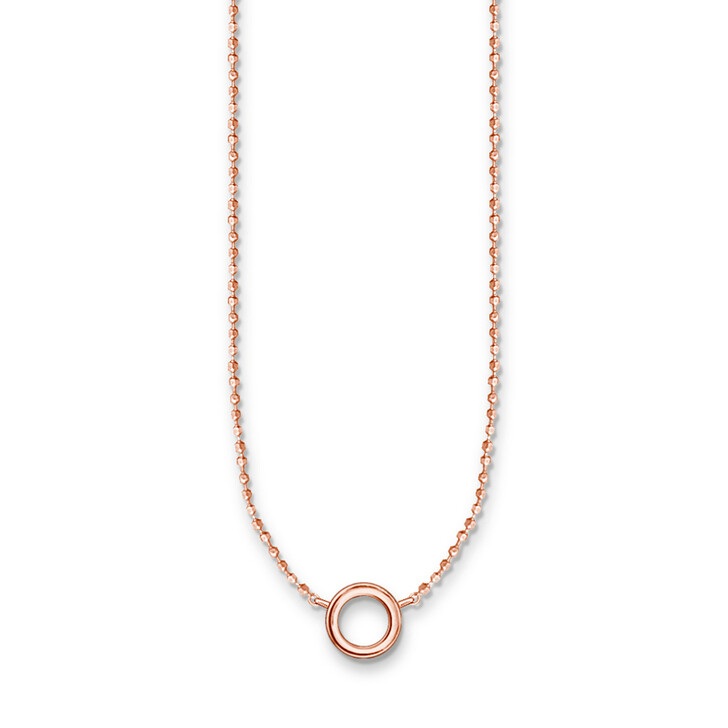 necklaces, Thomas Sabo, Charm Necklace Rose Gold