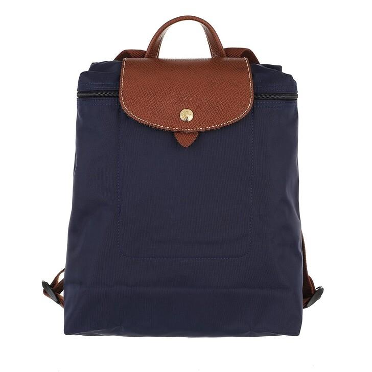 bags, Longchamp, Le Pliage Original Backpack   Navy