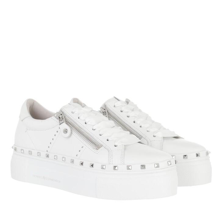 shoes, Kennel & Schmenger, Nano Sneaker Bianco