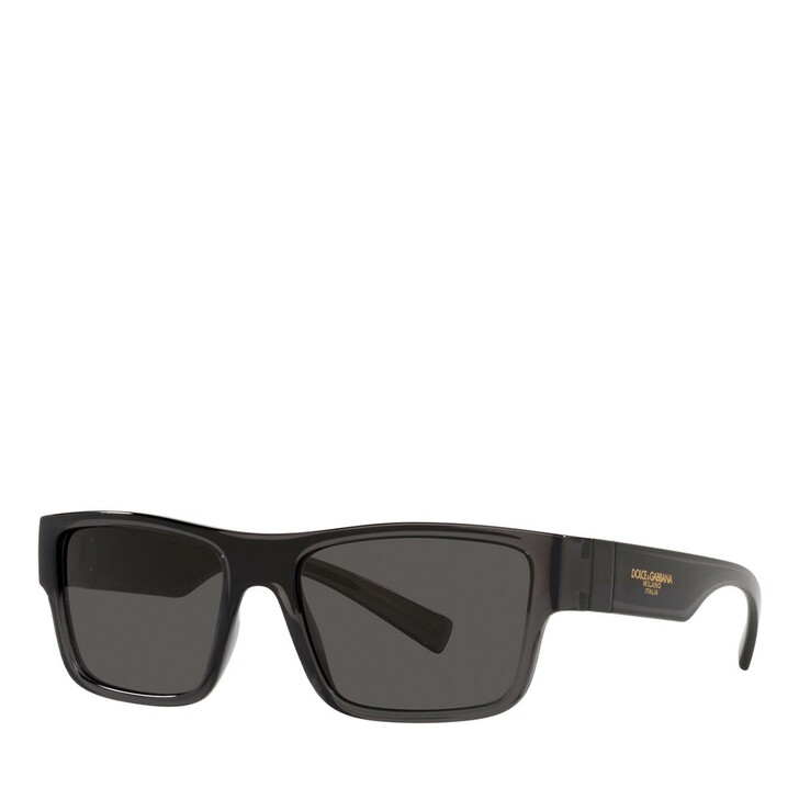 Sonnenbrille, Dolce&Gabbana, 0DG6149 Transparent Grey/Black