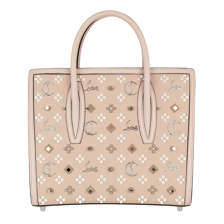 Handtasche, Christian Louboutin, Paloma S Medium Leather Rose