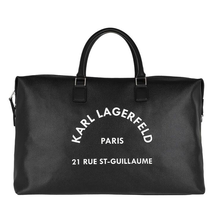 Reisetasche, Karl Lagerfeld, Rue St Guillaume Weekender Black