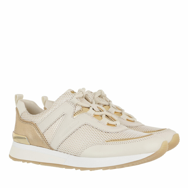 shoes, MICHAEL Michael Kors, Pippin Trainer Pale Gold