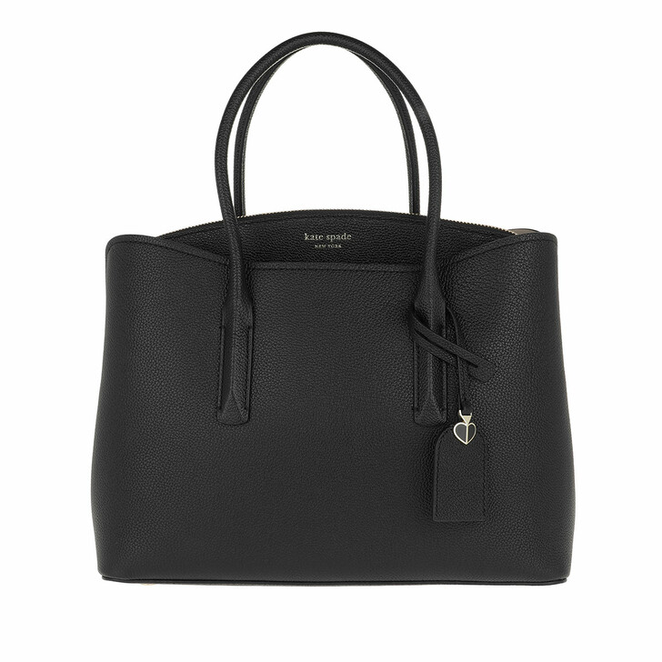 Handtasche, Kate Spade New York, Margaux Large Satchel Bag Black