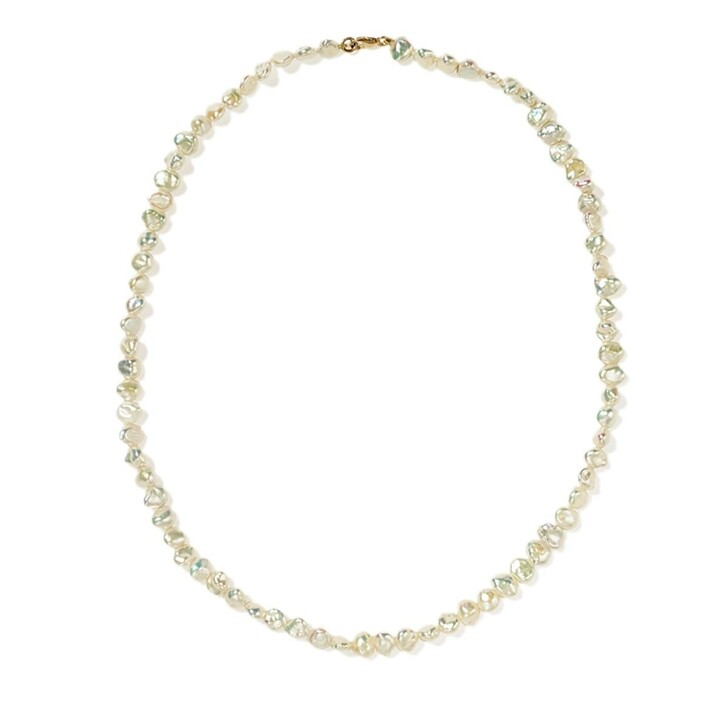 Kette, Meadowlark, Baroque Necklace Midi Yellow Gold