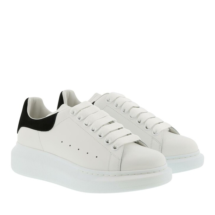 Schuh, Alexander McQueen, Sneakers Leather White/Black