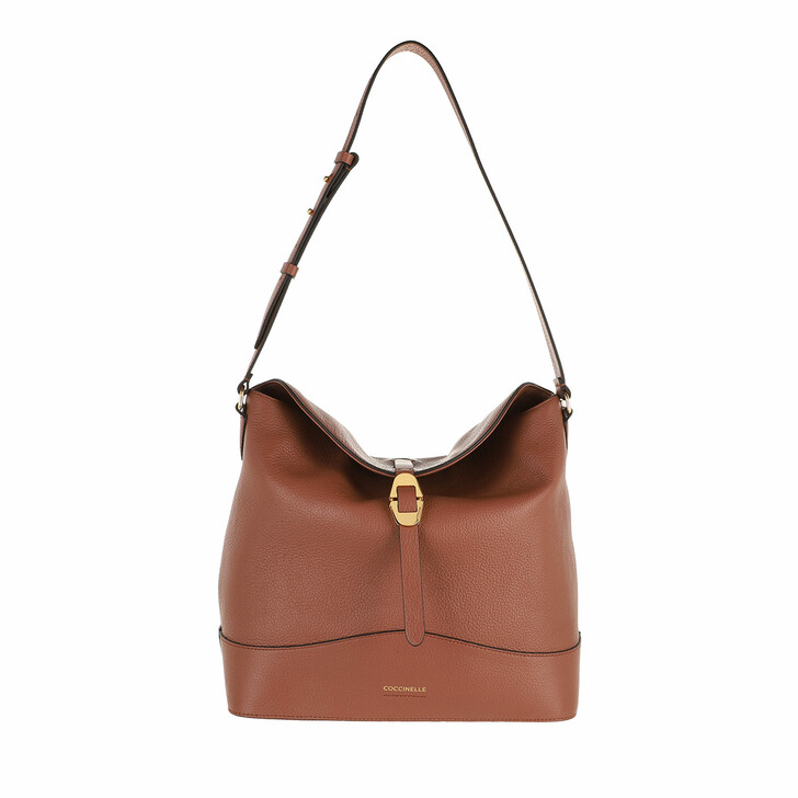 bags, Coccinelle, Josephine Handbag Grained Leather / Cinnamon Cinnamon