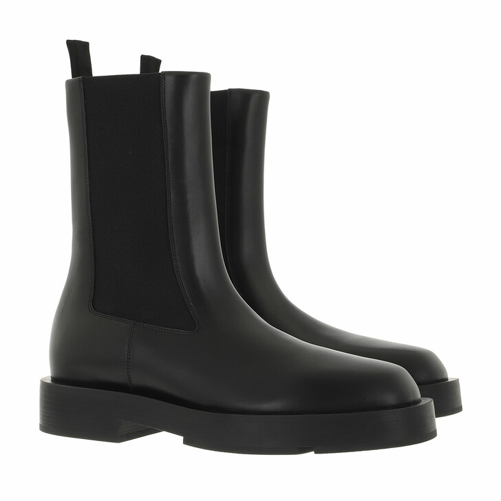 shoes, Givenchy, Chelsea Boots Leather Black
