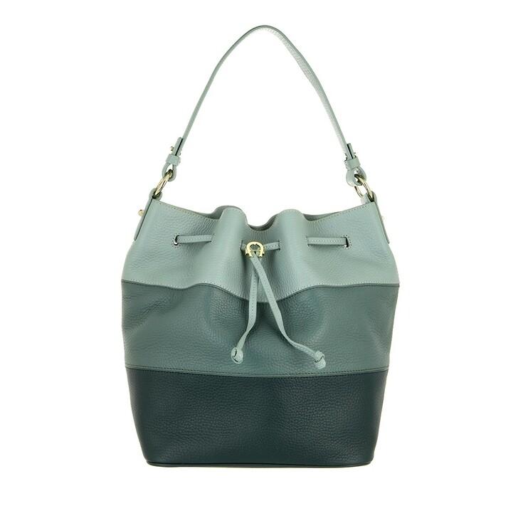 bags, AIGNER, Tara Handbag Deep Green