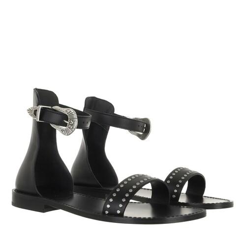 zadig & voltaire -  Sandalen & Sandaletten - EVER ALTA SMOOTH CALFSKIN - in schwarz - für Damen