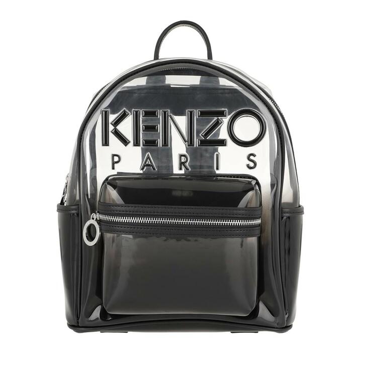 bags, Kenzo, Backpack Black