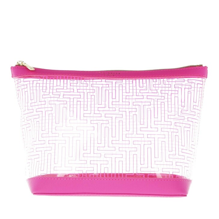 Necessaire, Ted Baker, Branded Washbag Bright Pink
